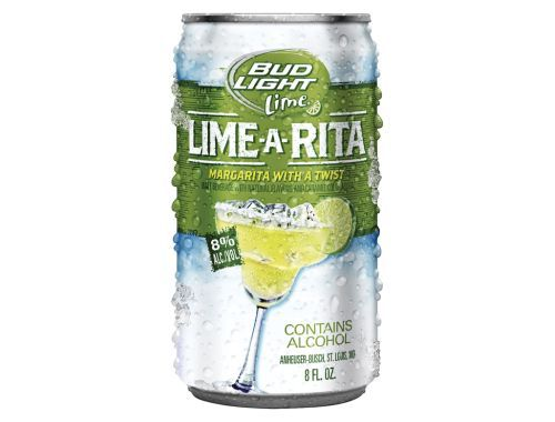 So Delish!  Add a tiny big of Tequila and BOOM! Bud Light Lime Lime-a-Rita Beer |
