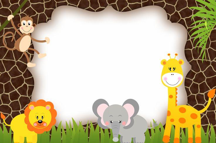 Montando minha festa: Safari Meninos