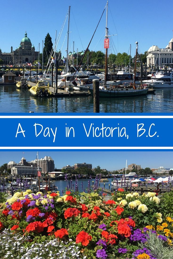 Best sights to see in Victoria, British Columbia. A beautiful, quaint town with plenty to see and do, even in just one day! Click through to the post to find out more, or save to read later! Travel / Canada / Bucket List