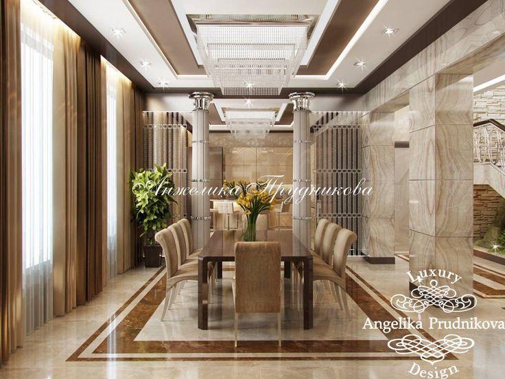 Дизайн проект интерьера гостиной в стиле Арт Деко в поселке Липки - фото
