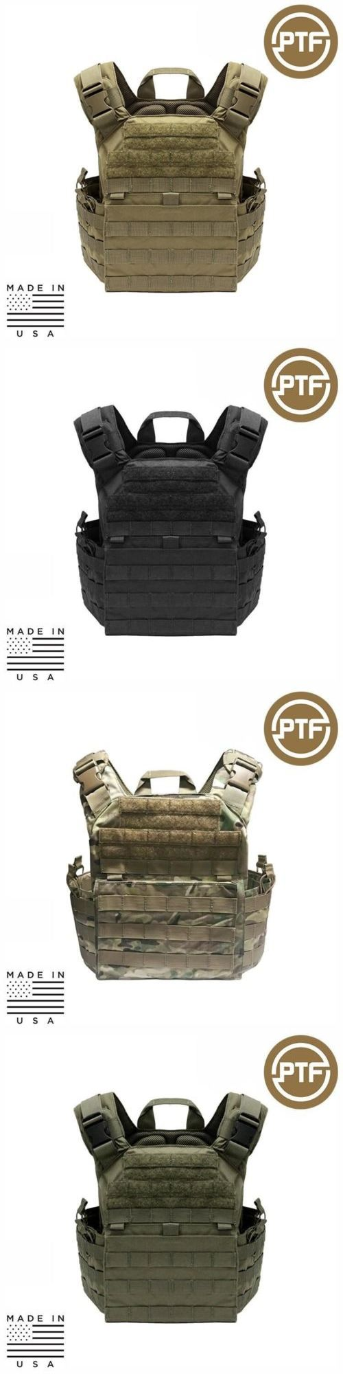 Chest Rigs and Tactical Vests 177891: Ptf Force Defender Series Tactical Rifle Plate Carrier - Elite Pro -> BUY IT NOW ONLY: $159.99 on eBay!