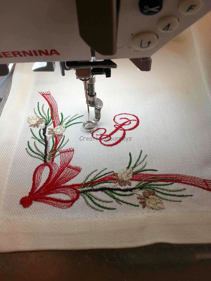 Easy Embroidery How To Embroider Napkins Machine