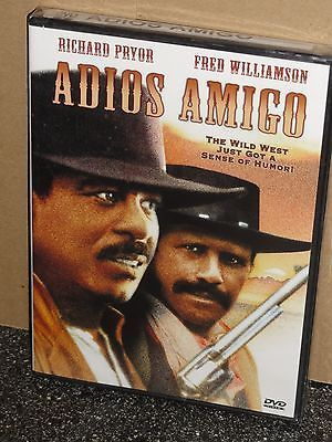 Adios Amigo (DVD) Richard Pryor, Fred Williamson, James Brown, Robert Phillips..