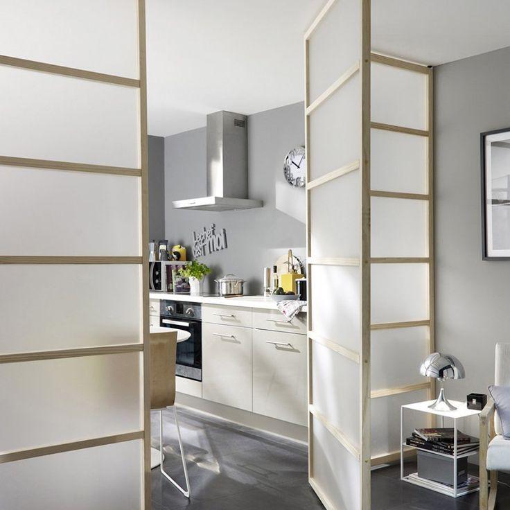 amazing une cloison coulissante esprit zen castorama with cloison japonaise castorama. Black Bedroom Furniture Sets. Home Design Ideas