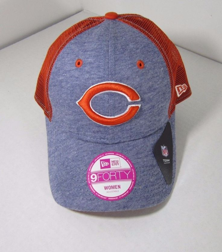 Chicago Bears New Era 9Forty Womens TriBlend Truckers Cap Hat Snapback New Nwt #NewEra #ChicagoBears