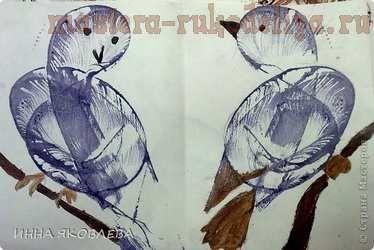 Мастер-класс по рисованию для детей: Ниткография