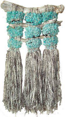 Arte Textil Marianne Werkmeister: Entre Cenizas: Amanecer