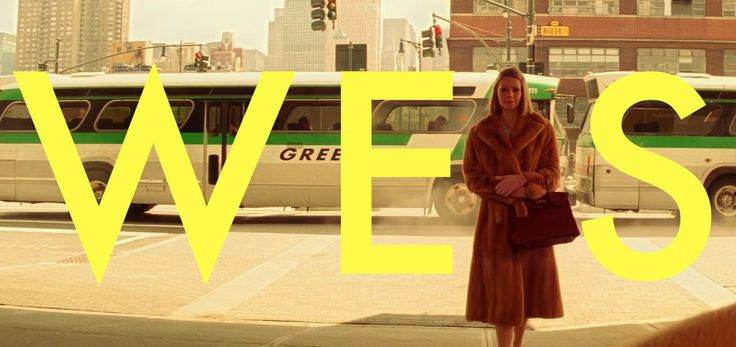 WES. A compilation of Wes Anderson´s slow motion shots.  SONG;  New Slang - The Shins