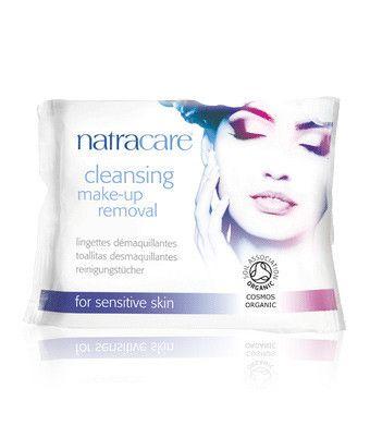 Rengöringsservetter - Make up removal, Natracare hos Hello Period!