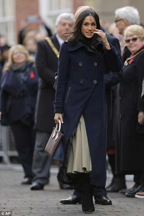 Miss Markle arrives in Nottingham today...Prince Harry and actress model Meghan Markle Announced their Engagement