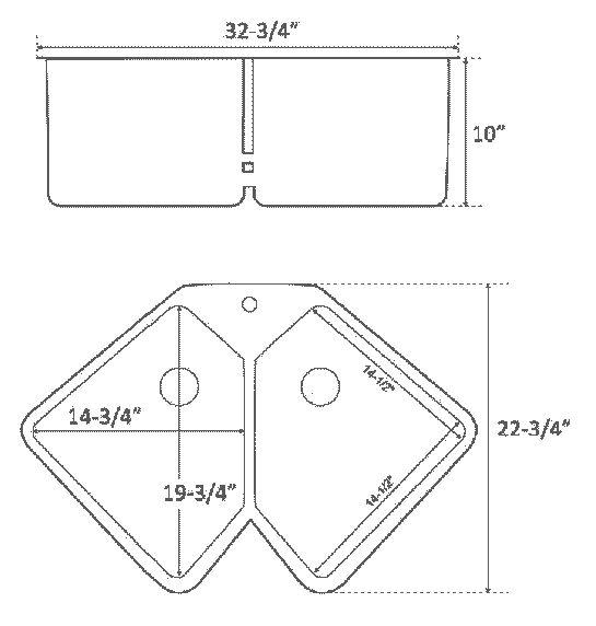 barclay-montague-stainless-steel-two-bowl-corner-sink-dims.png 545×572 pixels