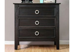 Arabelle Wire-Brushed Black Nightstand, /category/bedrooms/arabelle-wire-brushed-black-nightstand.html