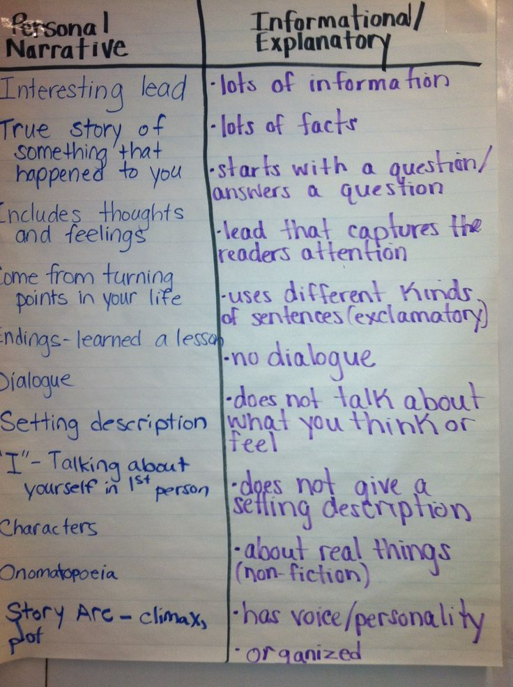 Discovering Essay Types: Narrative, Descriptive, Expository, Argumentative