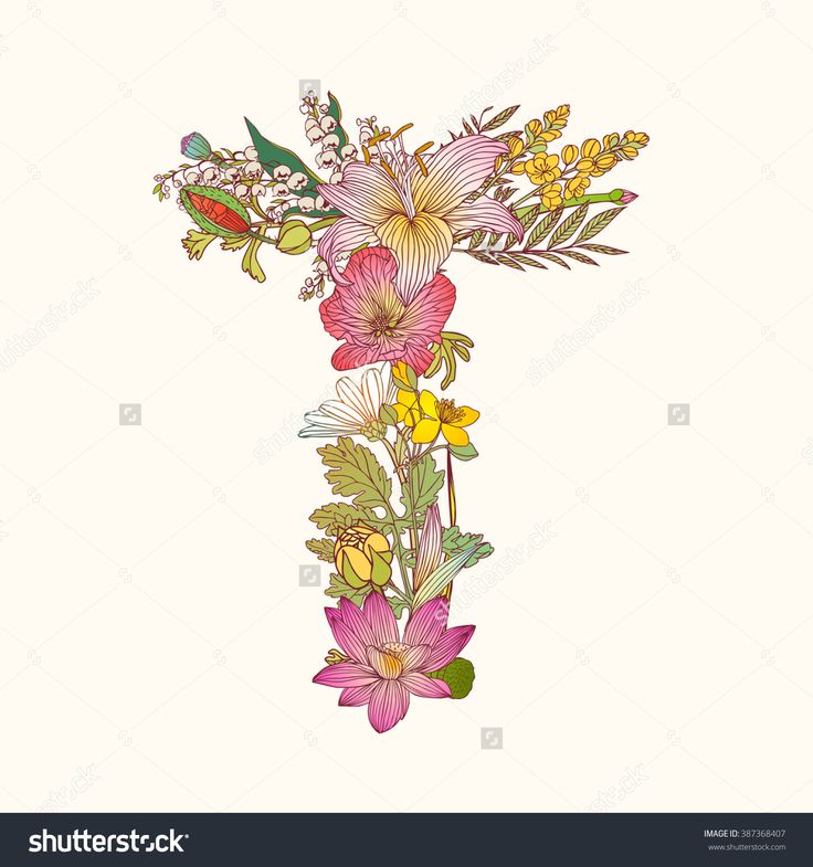 Image result for designing letters with flower designs