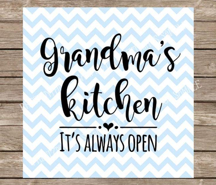 Download Grandma svg, Kitchen svg, Nana svg, Grandmas Kitchen svg ...
