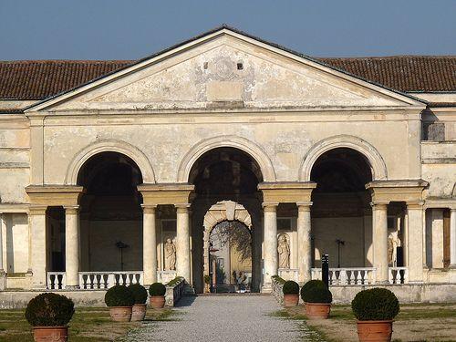 Mantova, Lombardia - Palazzo Te (1524) #mantova #art #culture #palace #palazzo #te #rinascimento #gonzaga #mantua