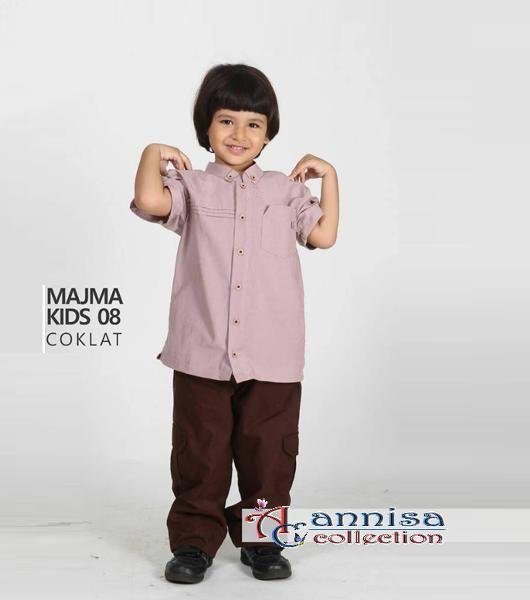 Jual beli Baju Muslim Anak Koko Majma kids 08 coklat - Size 9 - BIG SALE di Lapak Aprilia Wati - agenbajumuslim. Menjual Busana Muslim Anak Laki-Laki - WAJIB DIBACA: PASTIKAN STOK READY SEBELUM TRANSAKSI !!!!!!!!!! Pesanan akan dikirim berdasarkan stok yang ready saja  Koko Anak  Majma kids 08 coklat Kode : Majma Kids 08 Coklat Bahan: JQ PI, Baby canvas Ready : Size 1 & 9  Size & Harga : Size 1 = Rp. 159.500; Size 2 = Rp. 169.500; Size 3 = Rp. 179.500; Size 4 = Rp....