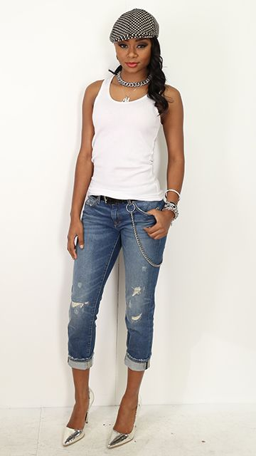 Madonna & Missy Elliot's GAP Ad Jeans: Zara - $49.90, Shirt: H&M - $4.99