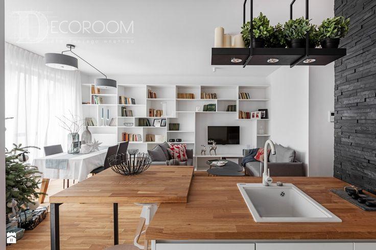 Salon styl Nowoczesny - zdjęcie od Decoroom - Salon - Styl Nowoczesny - Decoroom