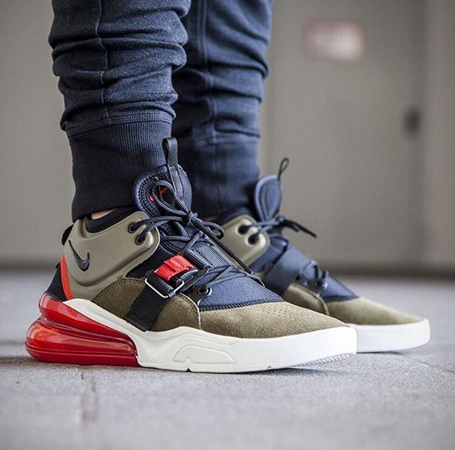 "best website 6d165 dae1e Nike Air Force 270 ""Medium Olive"" nike airforce nikeairforce  airforce270 nikeairforce270 everysize"