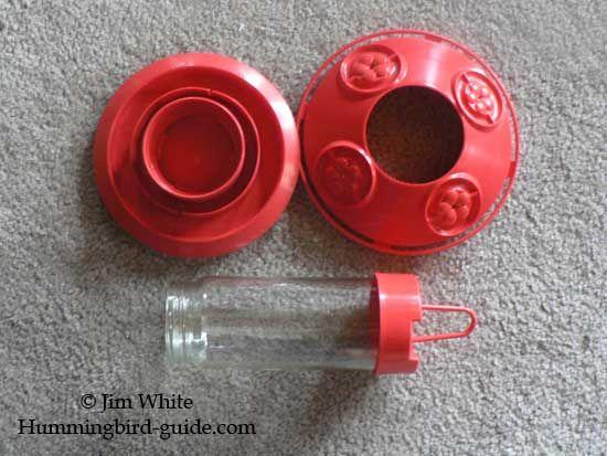 Dr.JB's hummingbird feeder parts.