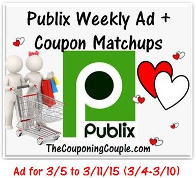 ***HERE YOU GO*** Here is the NEW Publix Ad for 3-5 to 3-11 (or 3/4-3/10 for those whose ad begins on Wednesdays) with Coupon Matchups! ► http://www.thecouponingcouple.com/publix-ad-with-coupon-matchups-for-3-5-to-3-11-15/  #Coupons #Couponing #CouponCommunity