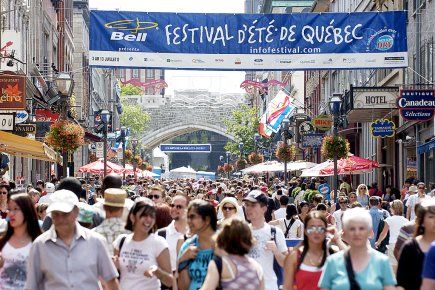 Festival d'été de Québec, Québec