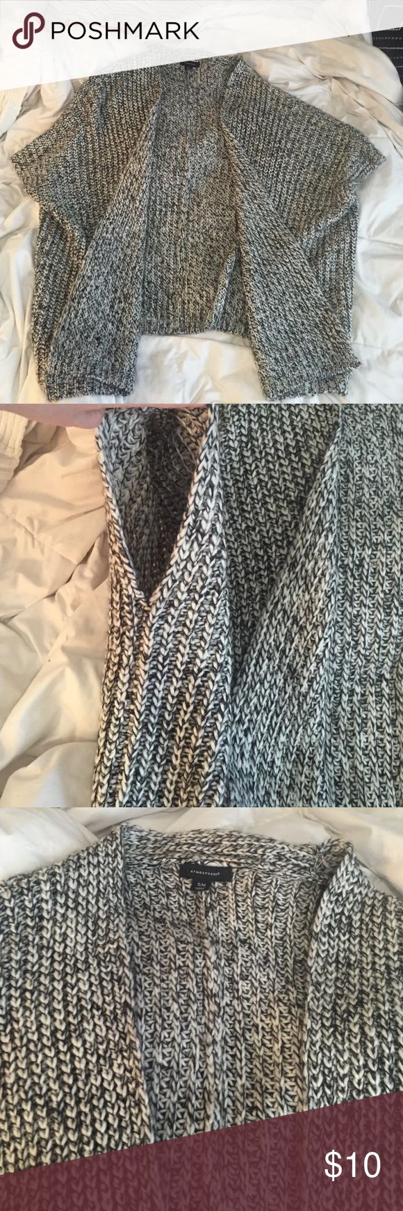 Knit open front cardigan Poncho style cardigan. Loose fit. Never been worn. Primark Sweaters Shrugs & Ponchos