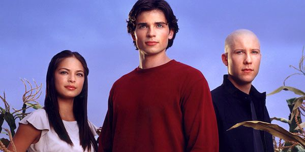 Lana, Clark and Lex from Smallville.  Though honestly Lana kinda annoyed me.