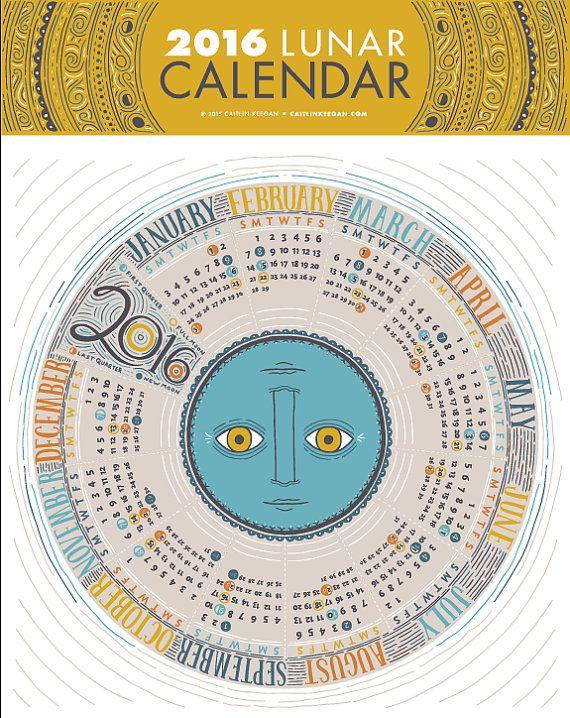 ... 2016 no Pinterest | Calendario 2016 luas, Calendario das luas e