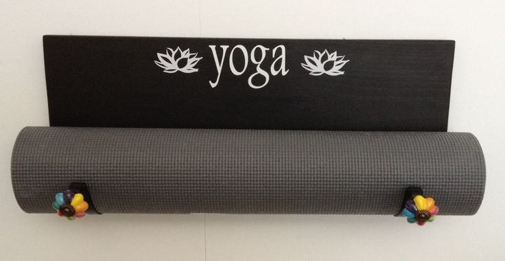 A personal favorite from my Etsy shop https://www.etsy.com/listing/231091507/yoga-mat-holder-custom-yoga-mat-holder