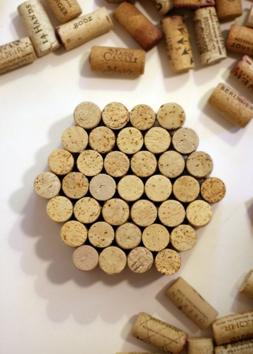 25 best ideas about Wine Cork Trivet