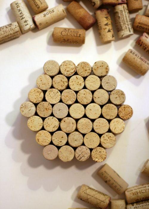 easy diy wine cork trivets everyday crafting with kids pinterest wine cork trivet and cork. Black Bedroom Furniture Sets. Home Design Ideas