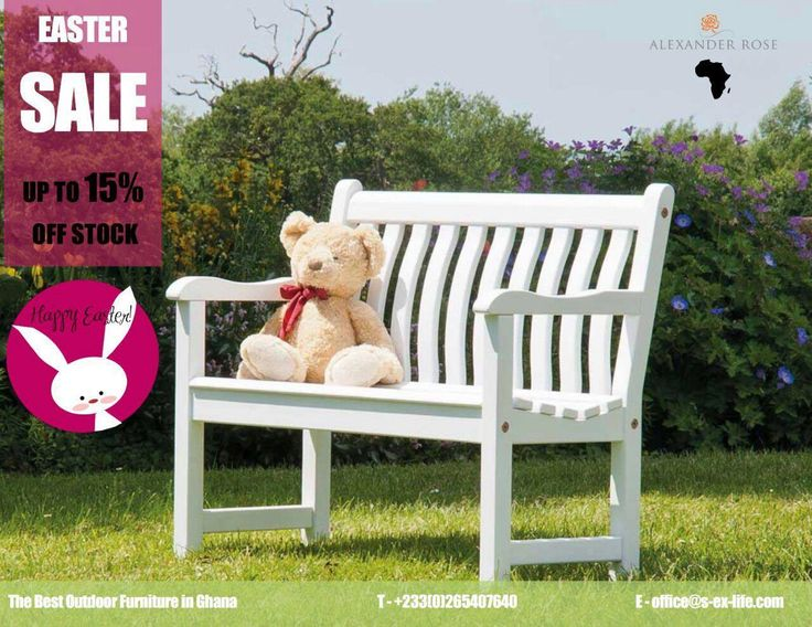 Happy Wednesday! Even though the Easter holiday is over the Alexander Rose Easter Sale is still ongoing! Up to 15% discounts on all stock items. Dining, lounge and children sets available. Look through our online brochure at alexander-rose.co.uk. Offer ending on the 9th of April. Contact us!