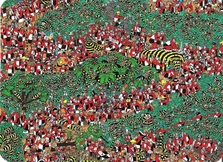 The Odlaw Swamp, Where's Wally?