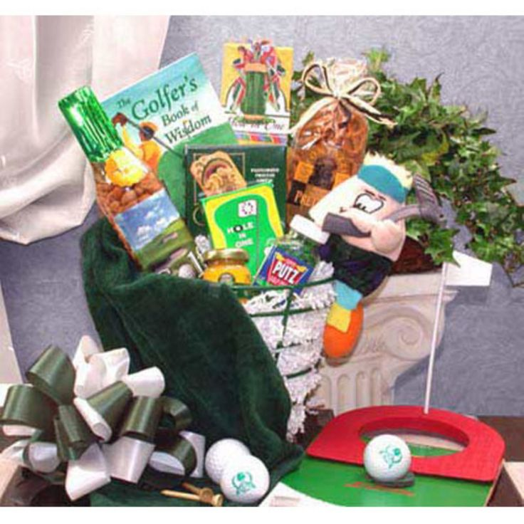 Golfers Caddy Golf Gift Basket - 85042
