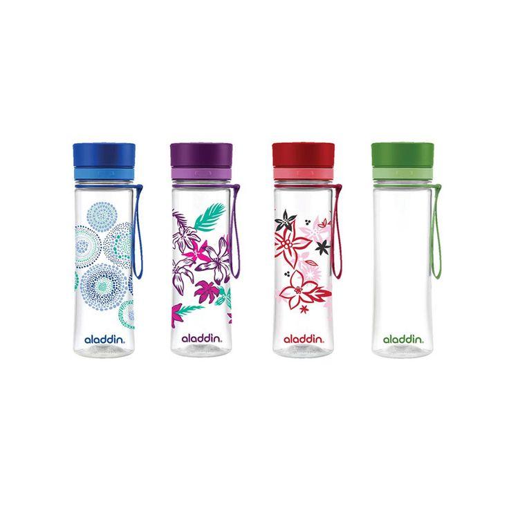 neue weichmacherfreie Trinkflaschen von Aladdin! praktisch für unterwegs