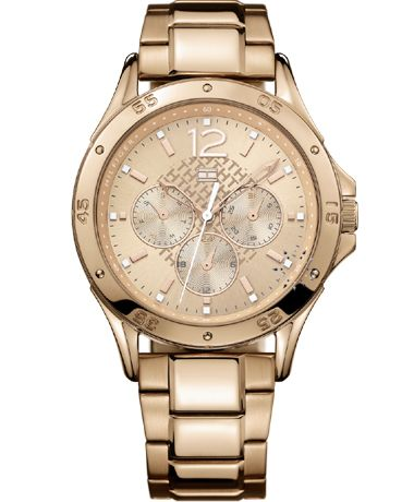 TOMMY HILFIGER Rose Gold Stainless Steel Bracelet