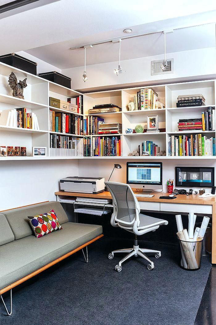 The Best Small Home Office Ideas Are Amazingly Comfortable For Work Guest Room Office Combo Small Office Design Home Office Layouts