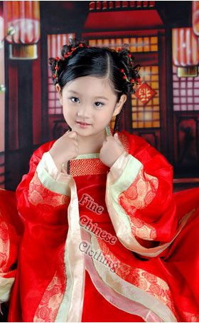 This is on my wish list. So hard to find hanfu (traditional pre-Qing era dresses) in general, and even more so for kids.