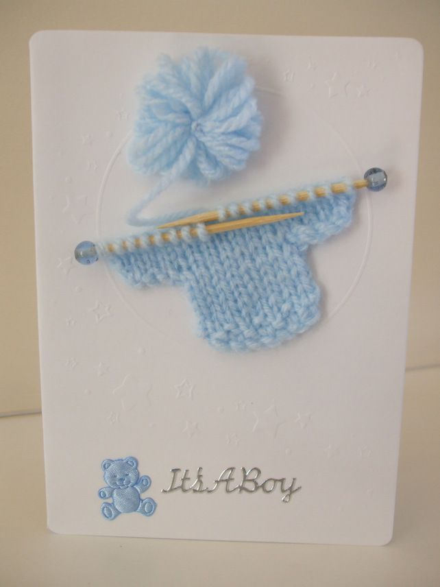 New Baby Boy Card £2.50