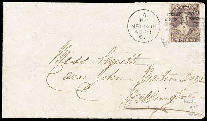 New Zealand, 1864, Queen Victoria