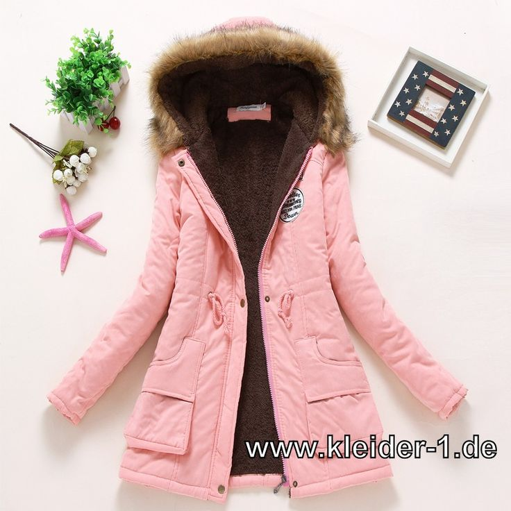 Winterjacken damen 2015 rosa