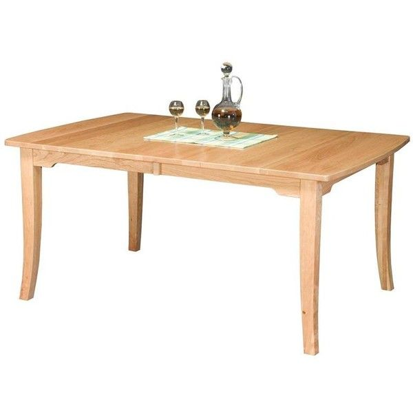 Amish Broadway Dining Room Leg Table ($848) ❤ liked on Polyvore featuring home, furniture, tables, dining tables, amish kitchen tables, extension table, top table, handmade dining tables and adjustable dining table
