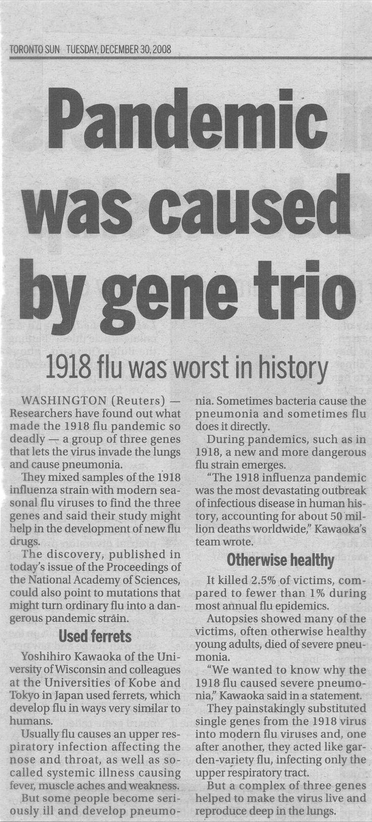 Influenza: A Case Study