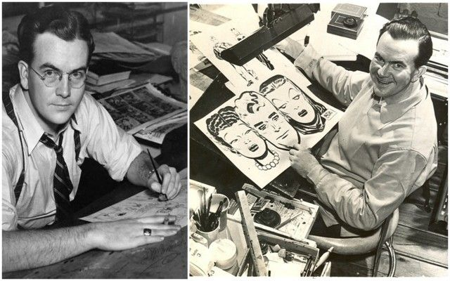 Milton Caniff !!!  Yhdysvaltalainen sarjakuvataiteilija