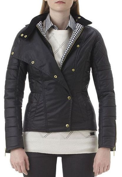 New fall coats from Barbour.
