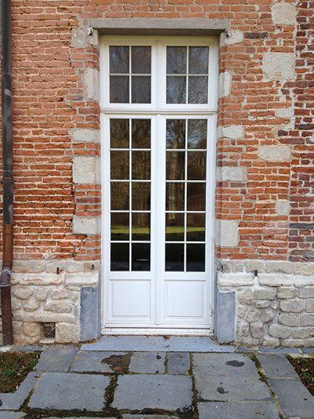 Engels houten deur oud Vlaams