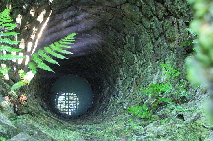 The deep well of Uwajima Castle #Uwajima #castle #architecture
