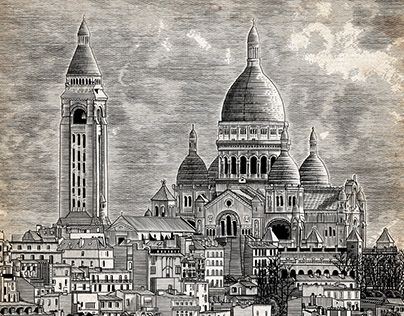 "Check out new work on my @Behance portfolio: ""Sacre Coeur Cathedral"" http://be.net/gallery/34346103/Sacre-Coeur-Cathedral"